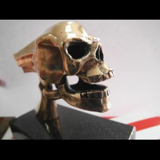Flying Skull, Bronze