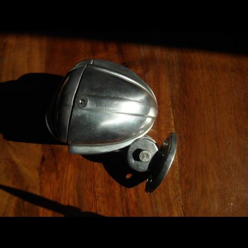 Harley Taillight, taillight Microphone, aluminum, handmade